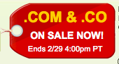 co domain coupon sale