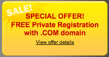 free private registration