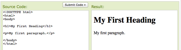 code results