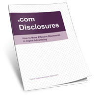 2013 FTC Disclosure Guidelines